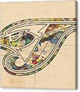 Toronto Blue Jays Poster Vintage Canvas Print