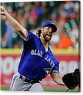 Toronto Blue Jays V Houston Astros Canvas Print