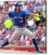 Toronto Blue Jays V Texas Rangers Canvas Print