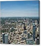Toronto Divide Canvas Print