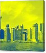 Toronto Downtown View Canvas Print
