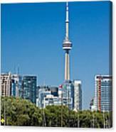 Toronto Harbour Canvas Print