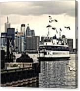 Toronto Island Ferry Canvas Print