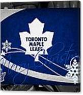 Toronto Maple Leafs Christmas Canvas Print