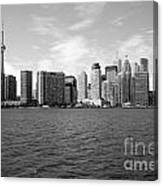 Toronto On Skyline Canvas Print