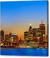 Toronto Skyline Panorama Canvas Print