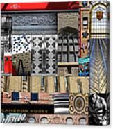 Toronto Textures 1 Canvas Print