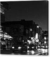 Toronto's China Town After Sunset Canvas Print