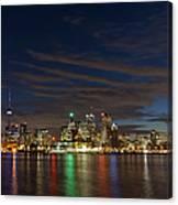 Toronto's Dazzling Skyline  Canvas Print