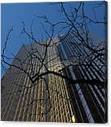 Toronto's Golden Bank - Royal Bank Plaza Downtown Canvas Print