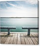 Torontos Lakeside Canvas Print