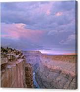 Toroweap Overlook Grand Canyon Nparizona Canvas Print