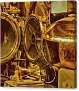 Torpedo Chamber Uss Bowfin Canvas Print