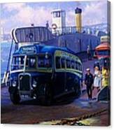 Torpoint Ferry. Canvas Print