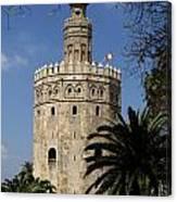 Torre Del Oro Canvas Print