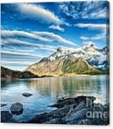 Torres Del Paine Park Canvas Print