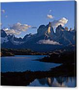 Torres Del Paine, Patagonia, Chile Canvas Print