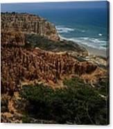 Torrey Pines Coastal View Canvas Print