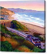 Torrey Pines Commute Canvas Print