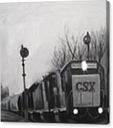 Torrit Train Canvas Print