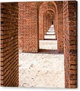 Tortugas Infinite Walkway Canvas Print