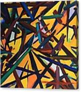 Total Chaos Canvas Print