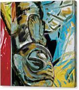 Totem Pole 2 Canvas Print