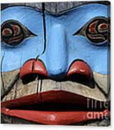 Totem Pole 4 Canvas Print