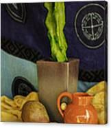Totem Pole Cacti 2 Canvas Print
