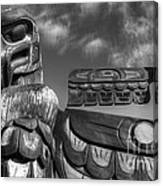 Totems 2 Canvas Print