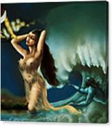 Touch Of The Beautiful Temptress Canvas Print