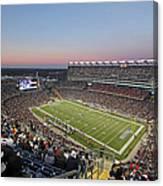 Touchdown New England Patriots  Canvas Print