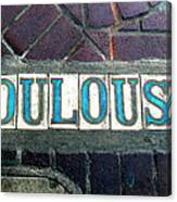 Toulouse Street Canvas Print