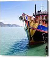 Tour Boat Canvas Print