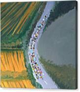 Tour De France 2 Canvas Print