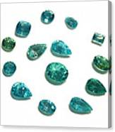 Tourmaline Paraiba Canvas Print
