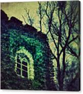 Tower And Trees Canvas Print