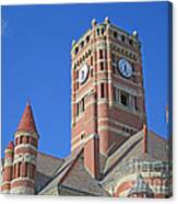 Tower And Turrets Canvas Print