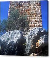 Tower At Aegosthena Canvas Print