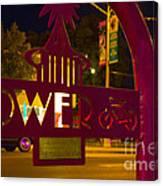 Tower Bike Rack Canvas Print