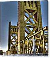 Tower Bridge 4 Sacramento Canvas Print
