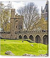 Tower Bridge And London Tower Canvas Print
