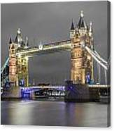 Tower Bridge Color Mix Canvas Print