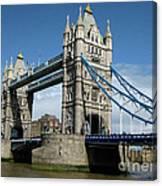 Tower Bridge London Canvas Print