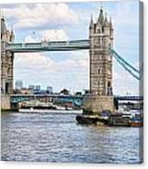 Tower Bridge Panorama Canvas Print