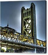 Tower Bridge Sacramento Canvas Print