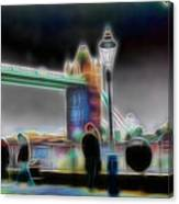 Tower Bridge Surrealism Canvas Print