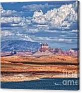 Tower Butte Canvas Print
