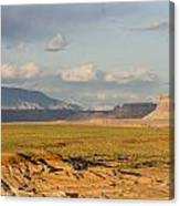 Tower Butte View Canvas Print