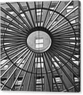 Tower City Center Architecture Canvas Print